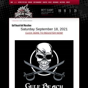 10th Annual Gulf Beach Half Marathon