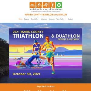 2021 Marin County Triathlon & Duathlon -- Saturday, October 30, 2021 9:00am