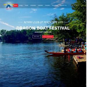 2021 Rotary Club of Peachtree City Dragon Boat Festival