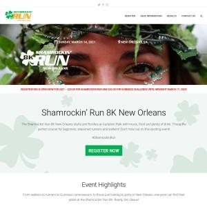 2021 Shamrockin' Run 8K New Orleans