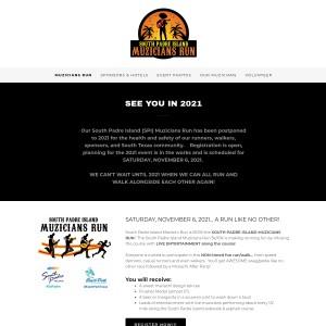 2021 South Padre Island Muzicians Run 5k/10k