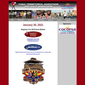 2021 Yuma Territorial Marathon, Half Marathon & 10K
