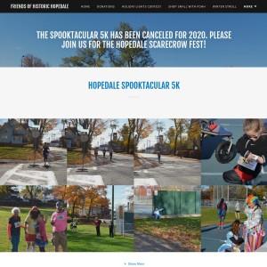 6th Annual Hopedale Spooktacular 5K Run / Walk