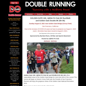 Copy of Golden Gate 10K, 5K and Double 8K