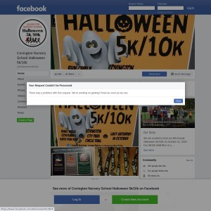 Covington Nursery School Halloween 5K/10K Run/Walk