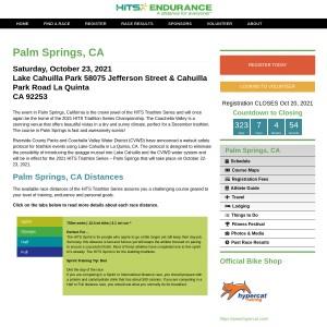 HITS Triathlon Series Championship - Palm Springs, CA 2021