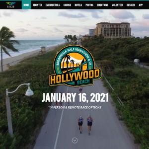 Hollywood Beach Broadwalk Half Marathon & 5k | ELITE EVENTS