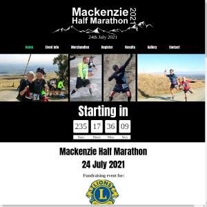 Mackenzie Half Marathon 2021