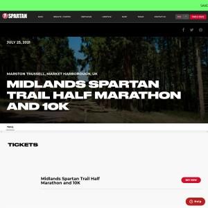 Midlands Spartan Trail - Sunday, July 25th 2021
