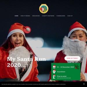 Santa in the City - MY SANTA RUN (Virtual)