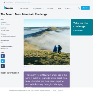 Severn Trent Mountain Challenge 2021