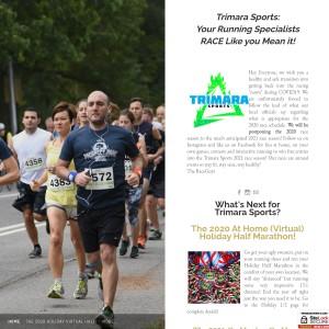 The Holiday Half Marathon!