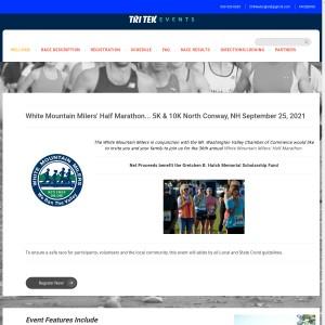 White Mountain Milers' Half Maratrhon